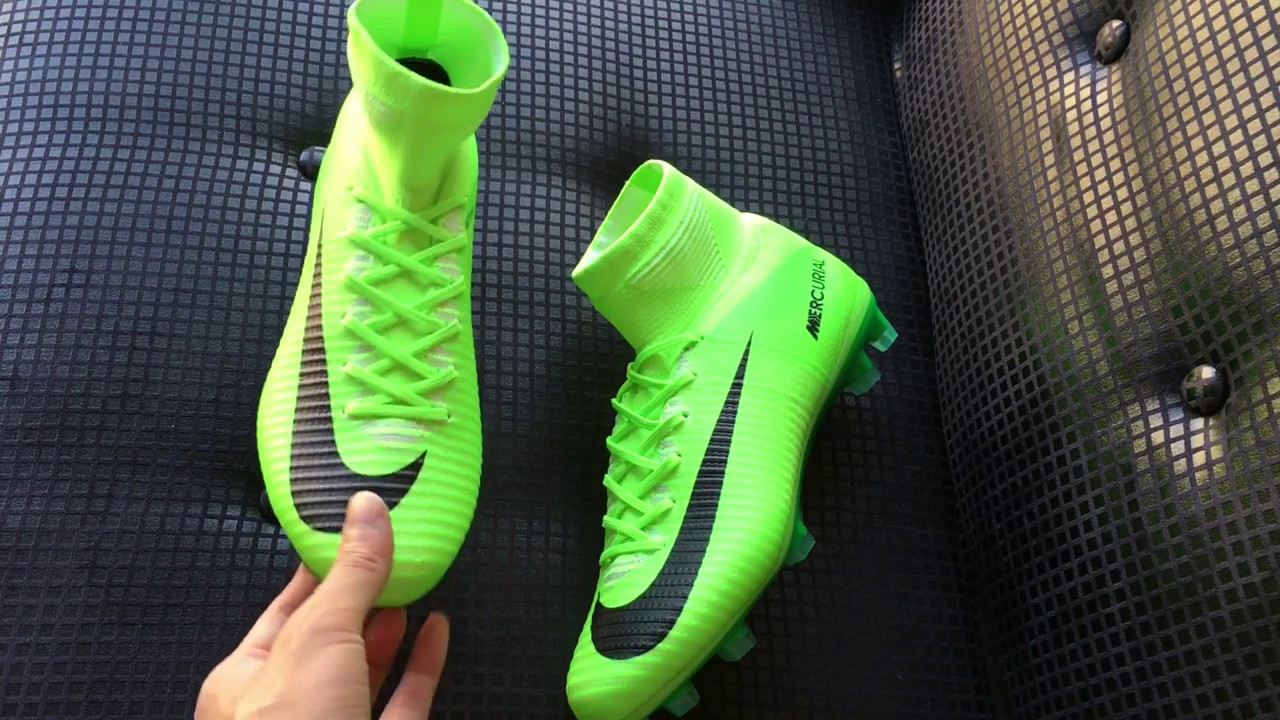 UPDATE NEW NIKE MERCURIAL SUPERFLY SOCCER CLEATS Electric Green