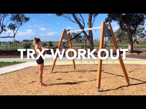 Full Body TRX Suspension Trainer Workout!!