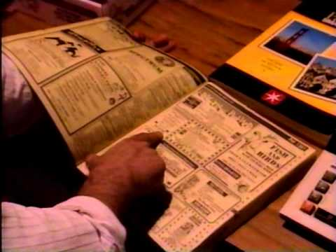 Pacific Yellow Pages Phone Book Commercial 1992 - YouTube