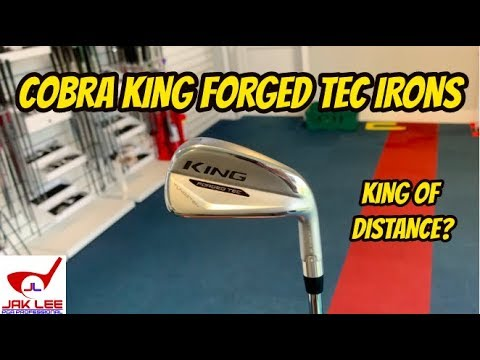 COBRA KING FORGED TEC IRON REVIEW - KING OF DISTANCE?