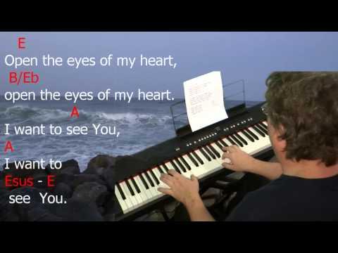 Open the Eyes of My Heart Keyboard chords (ver 3) by Paul Baloche ...