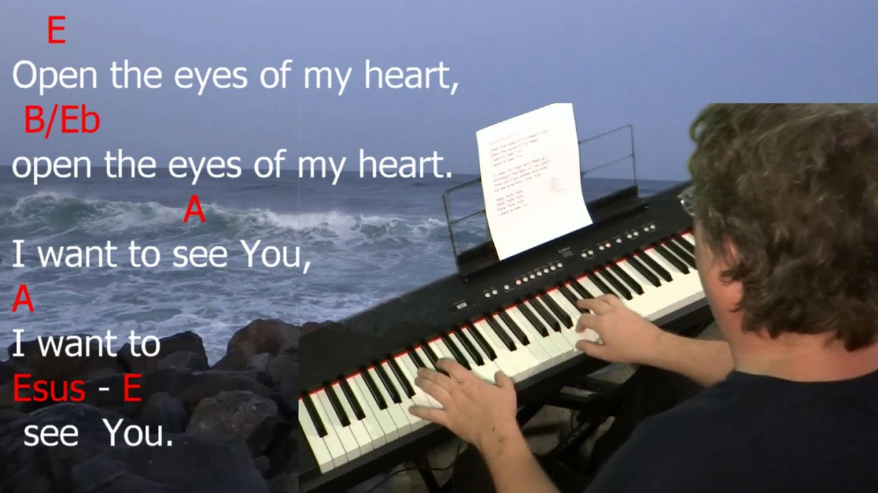 Learn to play open the eyes of my heart by paul baloche key e learn to play open the eyes of my heart by paul baloche key e major hexwebz Gallery