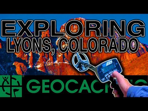 Lyons, Colorado - Some Geocaching, Some Metal Detecting and Some Hiking