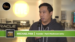 Pan's Mushroom Jerky Founder Speaks on NOSH Live Experience