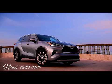 Тойота Хайлендер 2020 года/Toyota Highlander 2020
