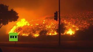 Al menos 30 muertos por los incendios forestales en California