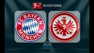 ملخص مباراة بايرن ميونخ وآينتراخت فرانكفور الدوري الالماني   Bayern Munich vs  Eintracht Francfor