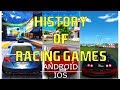 HISTORY/EVOLUTION Of RACING GAMES ANDROID IOS 2008 - 2017