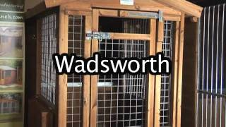 The Wadsworth Dog Kennel And Run System From Timberbuild
