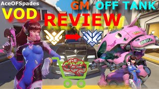 AceOFSpades - GM OFF TANK VOD REVIEW [ HOLLYWOOD ]