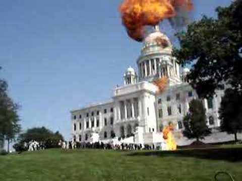 Explosion Capitol Building Youtube