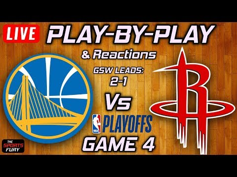 Warriors Vs Rockets Game 4 | Live Play-By-Play & Reactions
