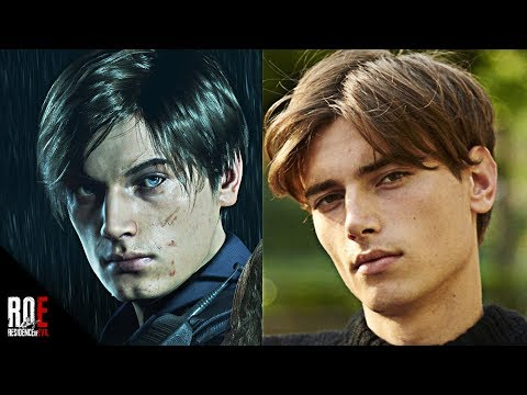 RESIDENT EVIL 2: REMAKE || Eduard & Jordan | The Faces Behind Leon & Claire