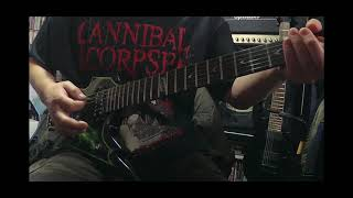 Cannibal Corpse - Shedding My Human Skin (Guitar Cover)