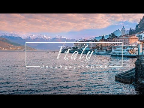 ITALY - TRAVELING FROM BELLAGIO TO VENICE (Phantom 4 Pro)
