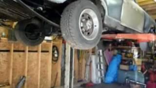 Vehicle Hoist for the Hotrod Chevy