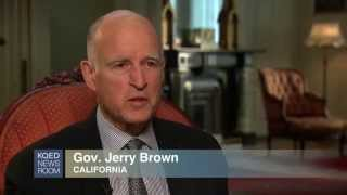 KQED Newsroom Segment: Jerry Brown Exclusive Interview, May 2, 2014