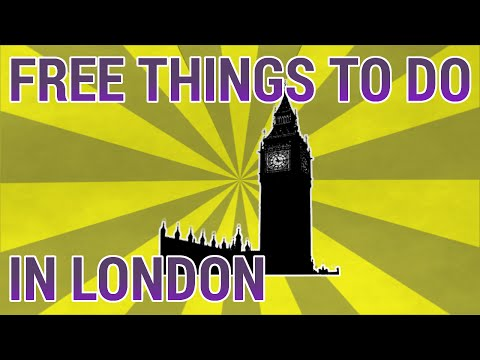 Free Things to Do: 5 things to do in London for free