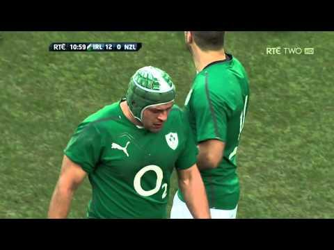 Rory Best Try Ireland V New Zealand Autumn International 2013 HD