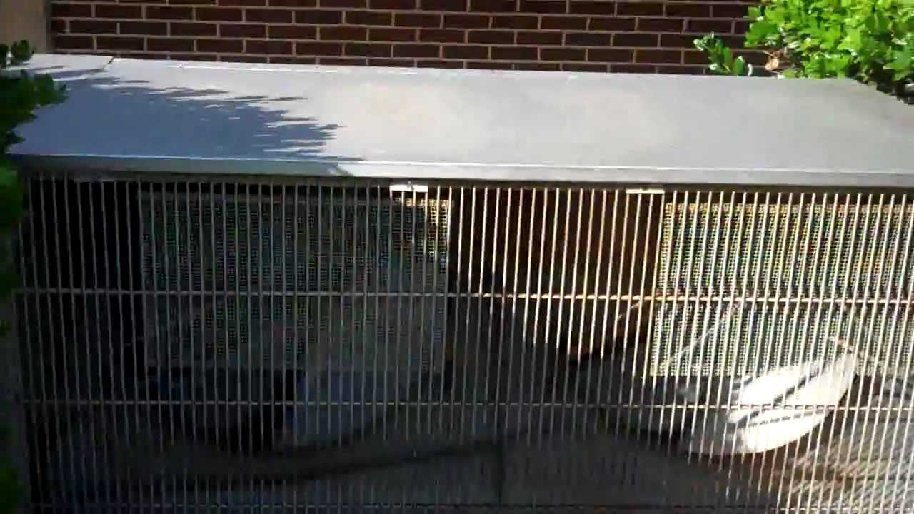 how to make an old air conditioner quieter