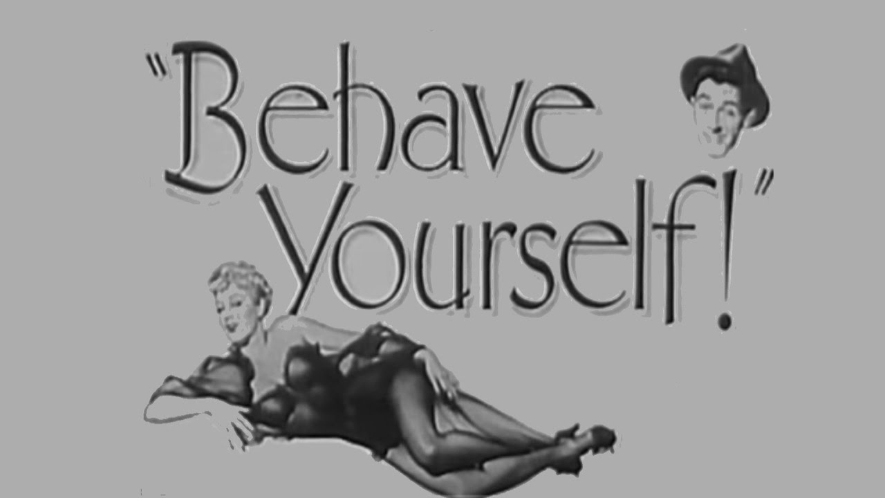 behave yourself 1951 comedy crime youtube
