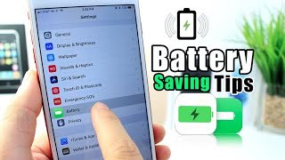iOS Battery Saving Tips
