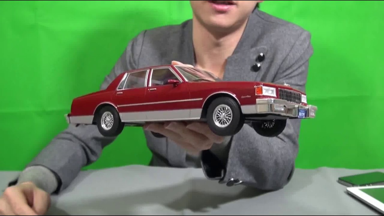 Condemn Model Car Group Chevrolet Caprice 1/18 Diecast Model