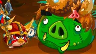 Angry Birds Epic #123 игра про мультфильм Bad Piggies злые птички #КРУТИЛКИНЫ
