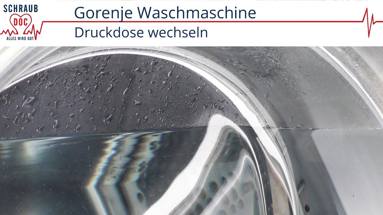 Gorenje Waschmaschine Läuft über Youtube