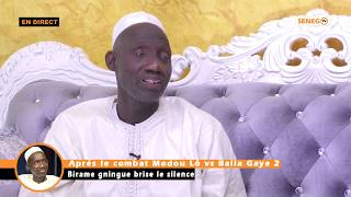 Modou Lô vs Balla Gaye 2 : Birame Gnigue brise le silence