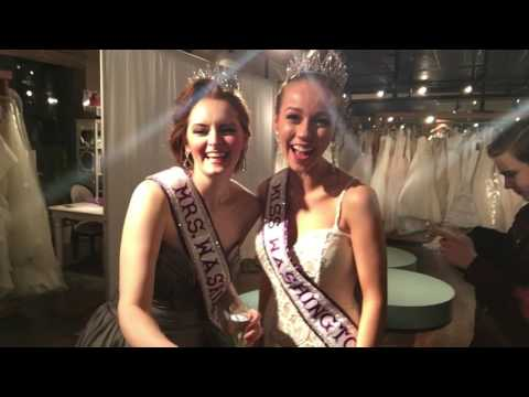 Behind the Scenes at Crowning Event