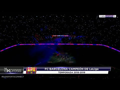 BARCELONA 2019 TITLE CELEBRATION