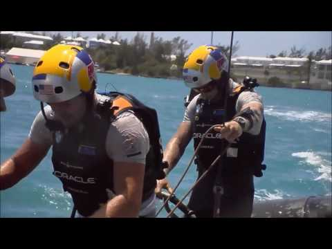 NZ Takes Lead, Day 2 America's Cup Match, June 18 2017