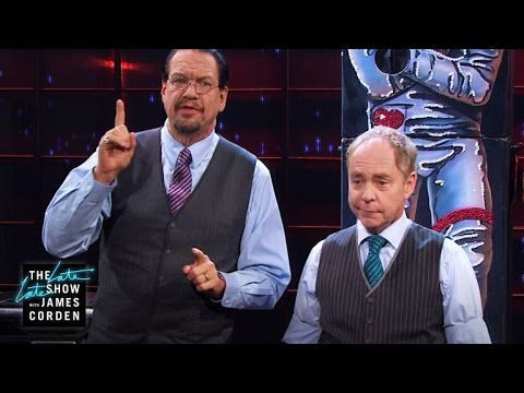 Penn & Teller Perform Lift Off Of Love