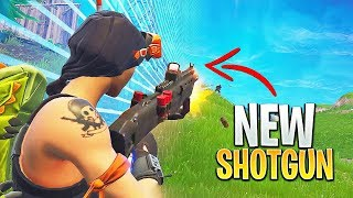 NEW HEAVY SHOTGUN!! (Fortnite Battle Royale Gameplay)