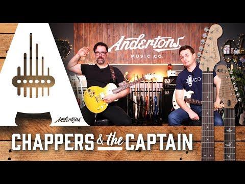 Slash & Carlos Santana unveil new Fender Signature Guitars!