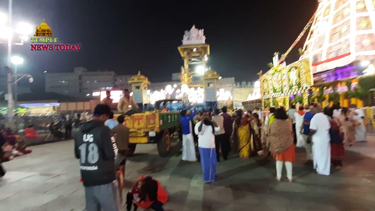 Tirumala Night Effect    Temple News Today