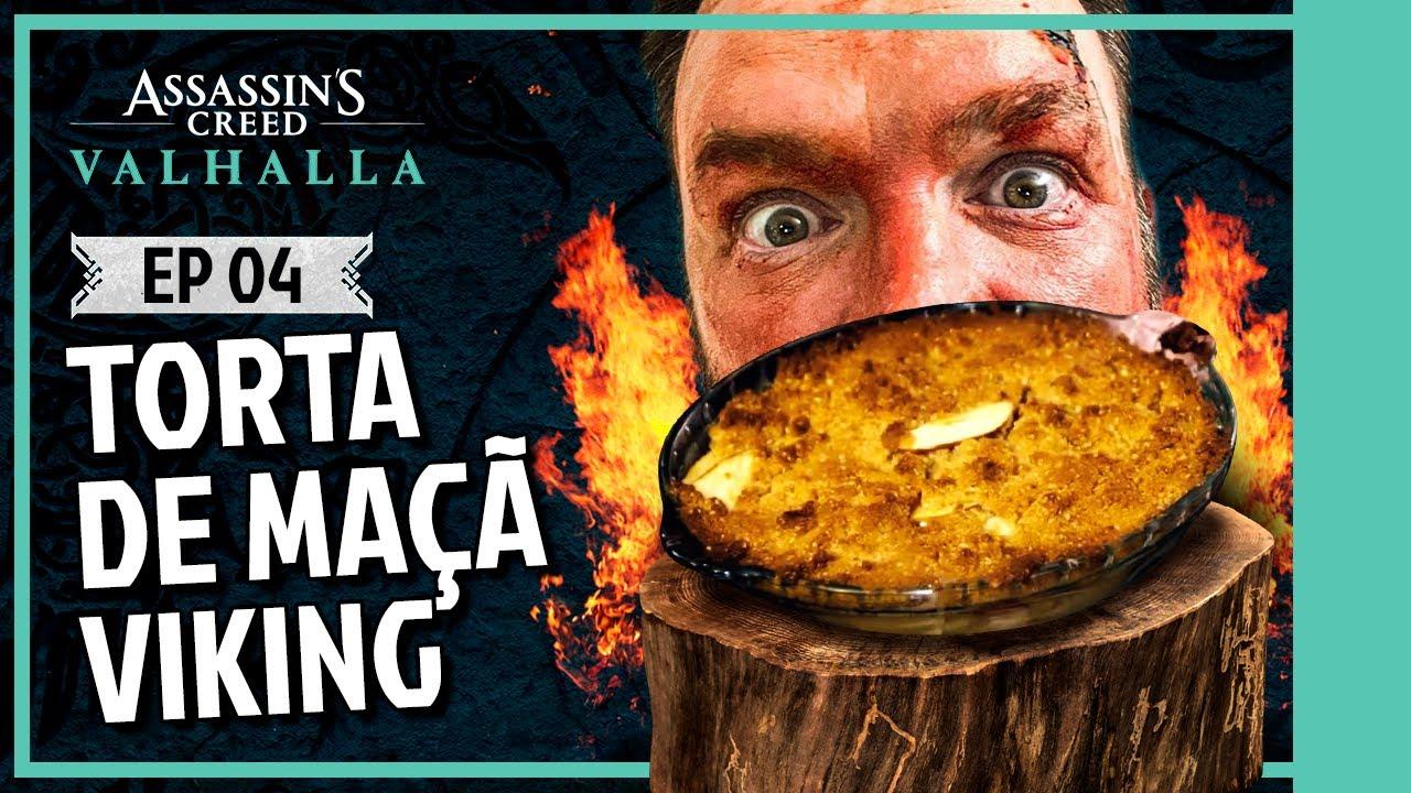 Assassin's Creed Valhalla: Taverna Viking com Jimmy Ogro - Episódio 4 | A lendária Torta Viking