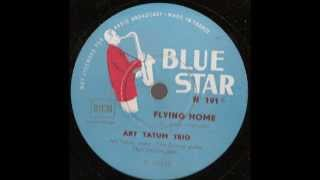 art tatum trio   flying home   78 rpm 12 inch