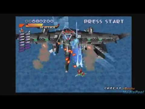 1997 RayStorm ( PSX) Old School retro game playthrough 60fps