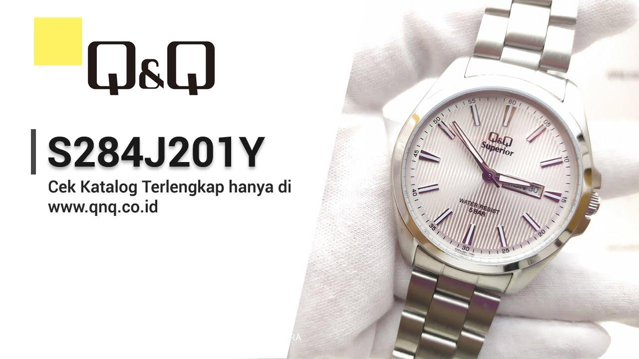 Q Q Superior S284j201y Jam Tangan Pria Analog Q Q Indonesia Youtube