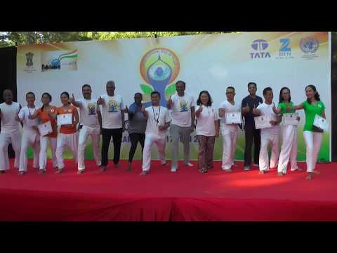 3rd International Day of Yoga in Jakarta - 2017