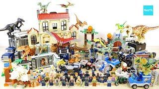 ジュラシックワールド炎の王国に関連したレゴ全11セットを紹介します。...