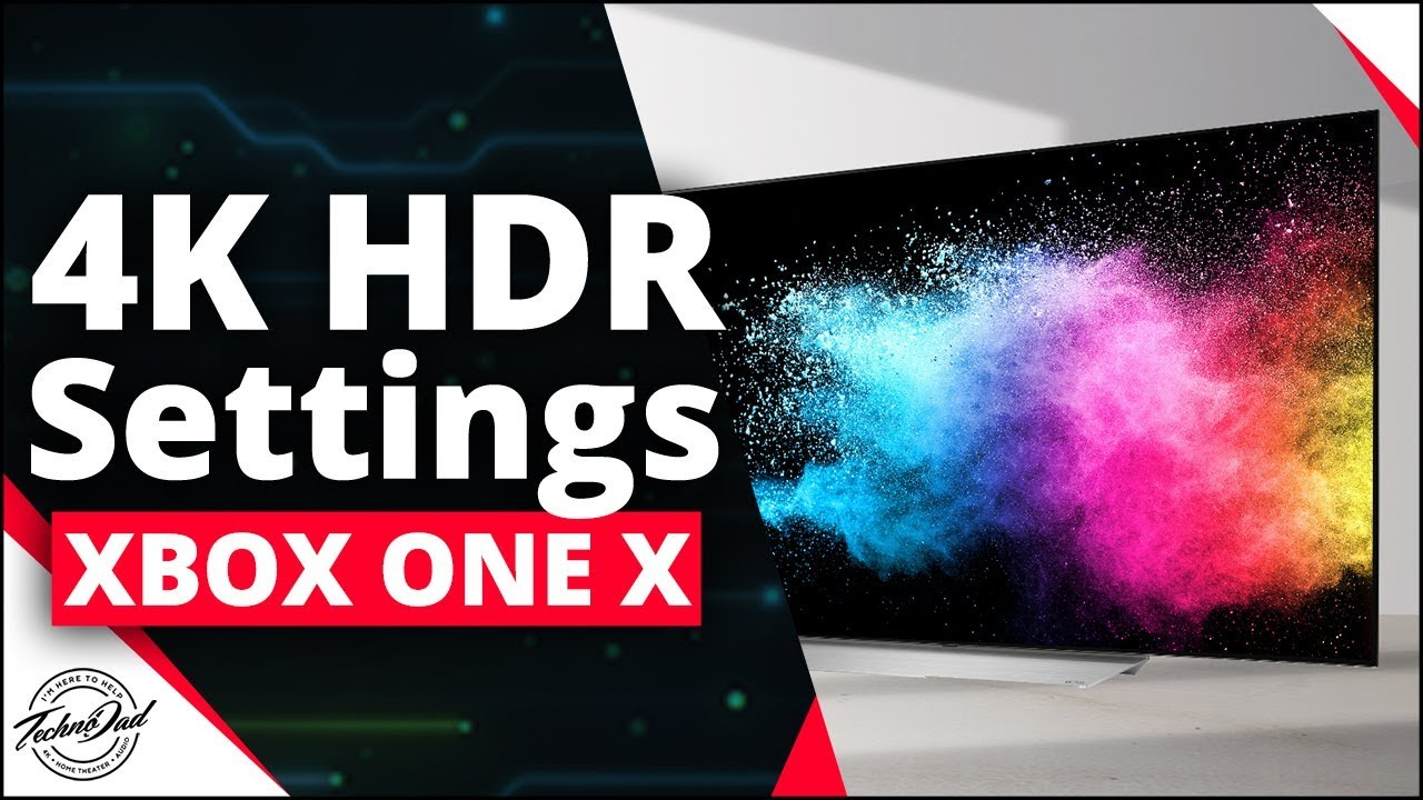 Lg Oled 4k Hdr Settings For Xbox One X Xbox One S Ps4 Pro 4k