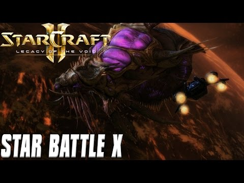 STAR BATTLE X – Starcraft 2 Mod
