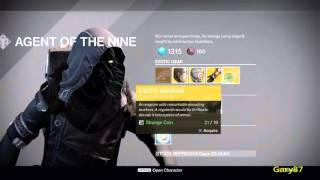 xur s location 9th october 2015 and items for sale