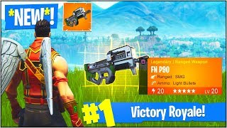 "*NEW* ""DRUM GUN"" & ""PDW"" in Fortnite Battle Royale! (*NEW* LEAKED Fortnite Weapons UPDATE)"