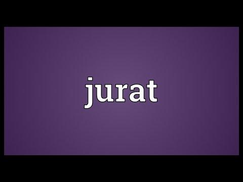 Jurat Meaning