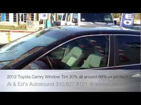 2012 CAMRY WINDOW TINT 20% ALL AROUND GLENDALE TOYOTA ...