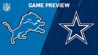 Lions vs. Cowboys | Matthew Stafford vs. Dak Prescott |  Move The Sticks | NFL Week 16 Previews